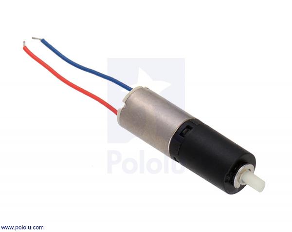 136:1 Sub-Micro Motor cu cutie de viteza 6Dx19L mm