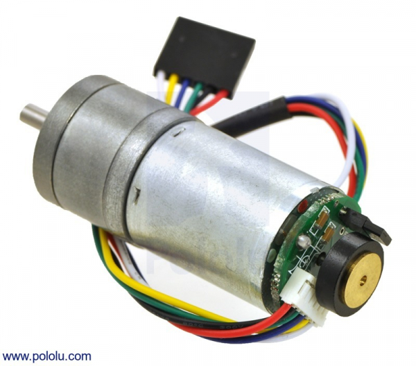 172:1 Metal Gearmotor 25Dx56L mm HP 6V cu Encoder 48 CPR
