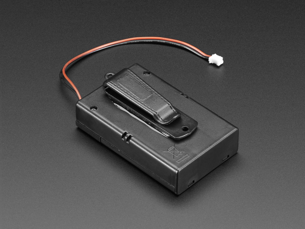 Suport pentru baterii 3xAA cu switch si clema curea