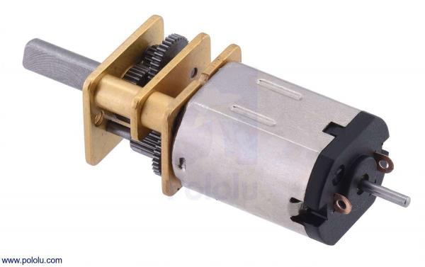 Motor electric micro metal 75:1 HPCB cu ax pentru encoder (Perii De Carbon)