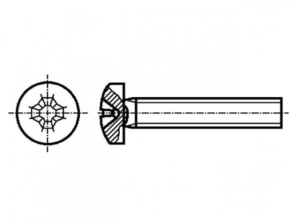 Surub otel 4mm X 60mm (1 buc)