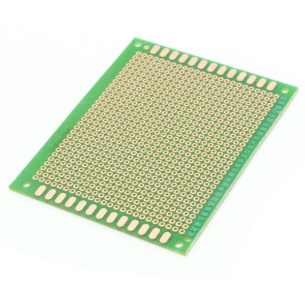 PCB prototipare dublu fata 7x9cm