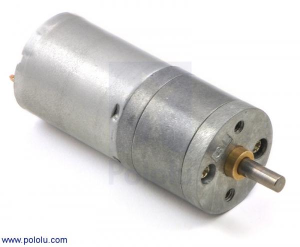 Motor metalic cu cutie de viteze 25Dx48L mm 9.7:1 HP