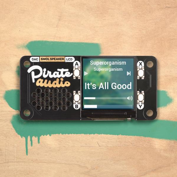 Difuzor Pirate Audio pentru Raspberry Pi