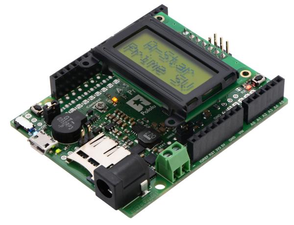 A-Star 32U4 Prime SV microSD cu LCD