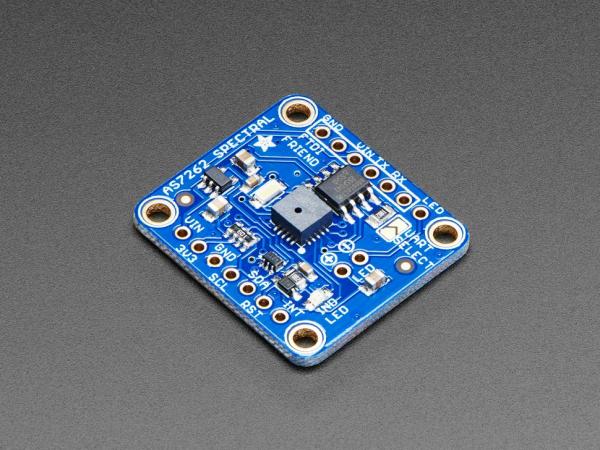 Breakout senzor de lumina culoare de 6 canale Adafruit AS7262