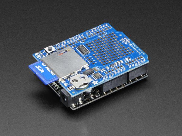 Shield DataLogger pentru Arduino