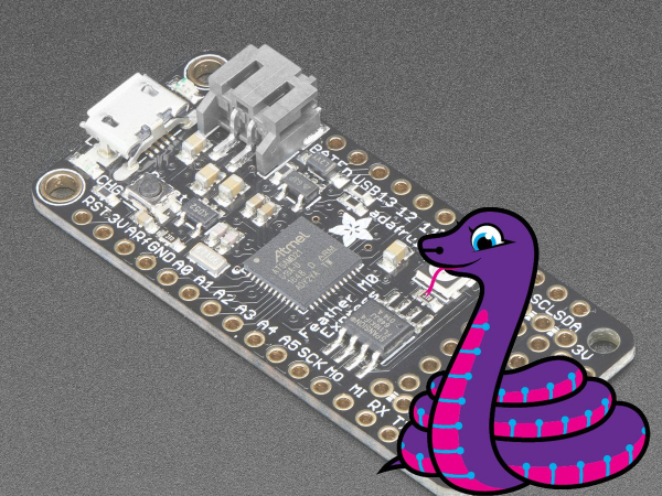 Adafruit Feather M0 Express - CircuitPython - ATSAMD21 Cortex M0
