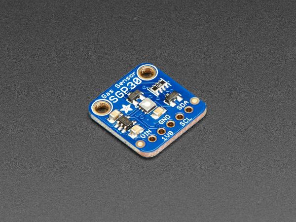 Senzor de masurarea calitatii aerului Adafruit SGP30 - VOC si eCO2