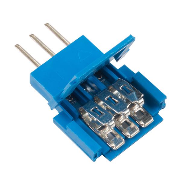 Conector Tata 3 pozitii Clincher Amphenol FCI