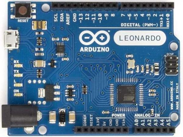 Arduino Leonardo, varianta completa