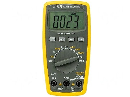 Multimetru Digital de Precizie AX105 ( + Sonda Temperatura)