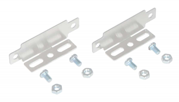 Bracket Pair for Sharp GP2Y0A02, GP2Y0A21, and GP2Y0A41 Distance Sensors - Parallel