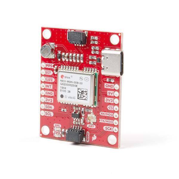 Breakout GPS SparkFun NEO-M9N, U.FL (Qwiic)