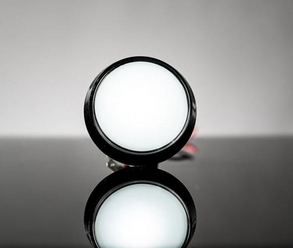 Buton Arcade cu LED alb - 60mm