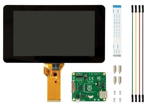 Display 7 Raspberry Pi - Touch Screen Capacitive Touch