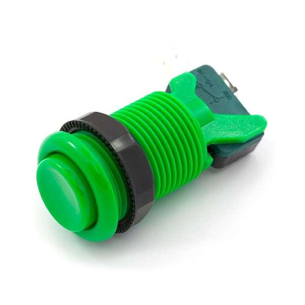 Buton concav verde