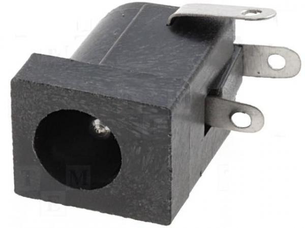 Soclu alimentare DC 5.5mm X 2.1 mm