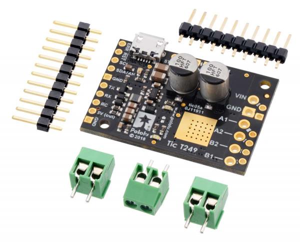 Driver motor stepper multi-interfata USB Tic T249