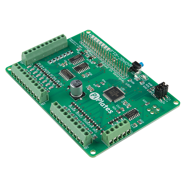 DAQCplate pentru Raspberry Pi