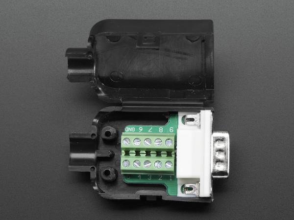 Mufa Tata DB9 - Conectori cu surub