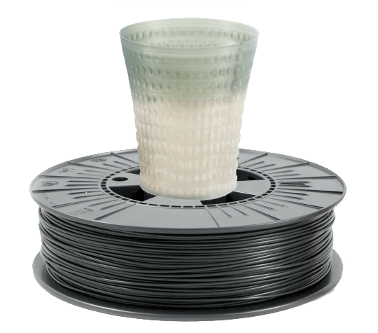 Filament TPLA - 1.75 mm Thermochrom(Gri Inchis) 500g