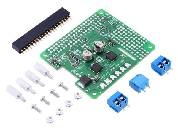 Driver motor dublu TB9051FTG pentru Raspberry Pi (kit partial)