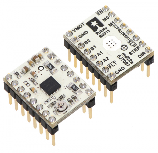 DRV8834 Low-Voltage Stepper Motor Driver