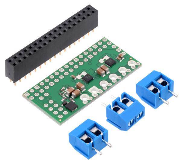 Dual MAX14870 Motor Driver pentru Raspberry Pi (Partial Kit)