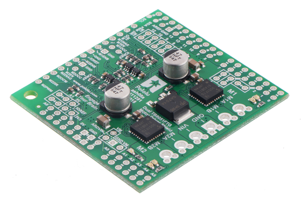 Shield dublu-canal TB9051FTG driver motor pentru Arduino