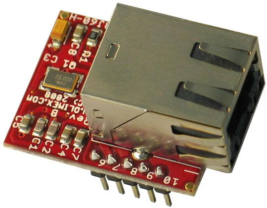 Placa Retea ENC28J60-H Arduino