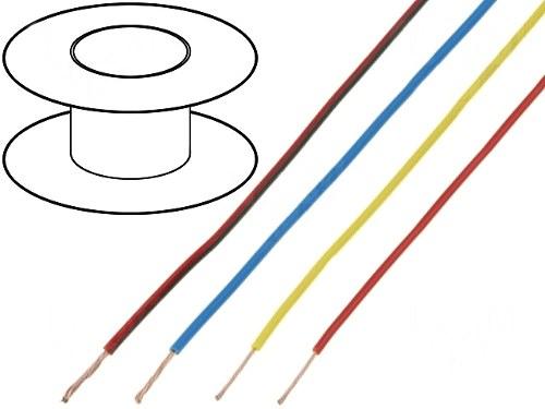 Fir Conexiune Multifilar 0.22 mm 2 - Albastru