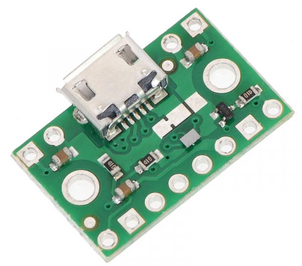 FPF1320 Power Multiplexer cu Micro-B USB