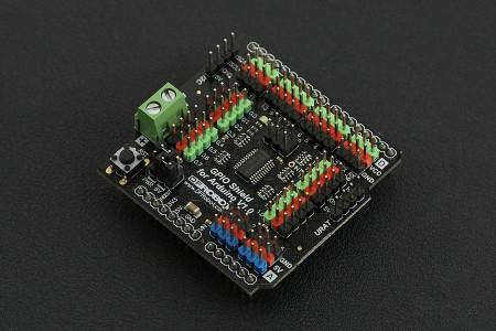 Gravity: GPIO Shield pentru Arduino