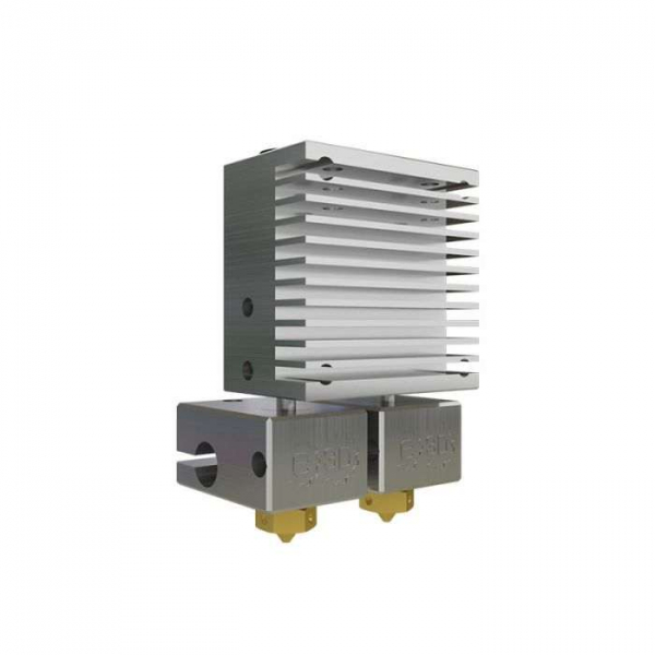 Kit extrudor Dual Chimera Plus cu Hot end si dubla extrudare, racire cu aer, 12V