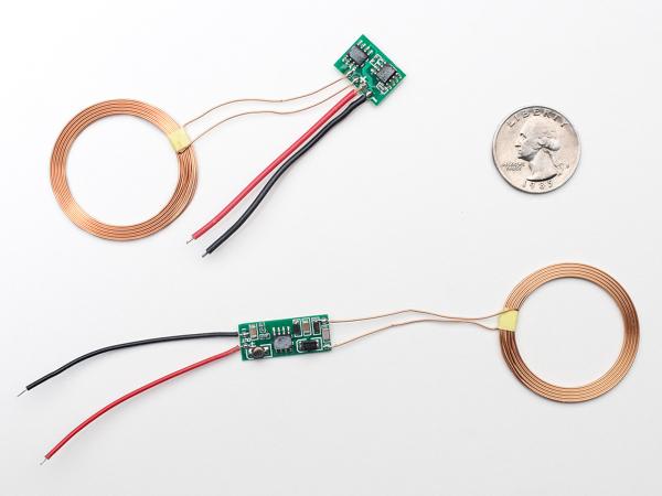 Set alimentare prin inductie - 5V 500mA max