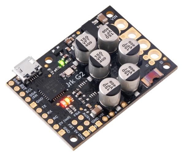 Controlor de motor USB Jrk G2 18v27 cu feedback
