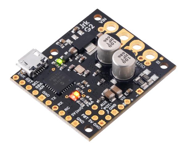 Controlor de motor USB Jrk G2 24v13 cu feedback