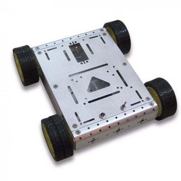 Kit sasiu robotic metalic pentru Arduino