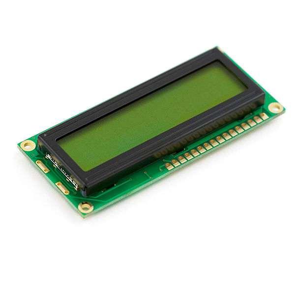 LCD 16 x 2 Alb pe Albastru, 3 V