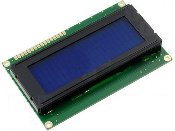 LCD 20 x 4 Albastru