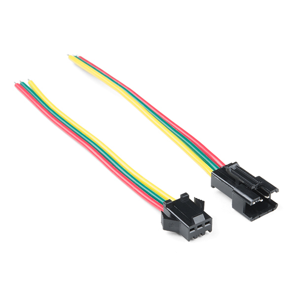 Conector 3 pini JST-SM LED