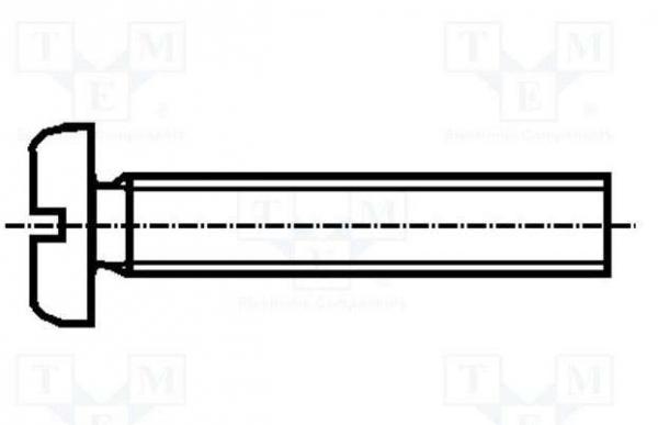 Set surub otel 3 mm (M3) X 35 mm (10 bucati)