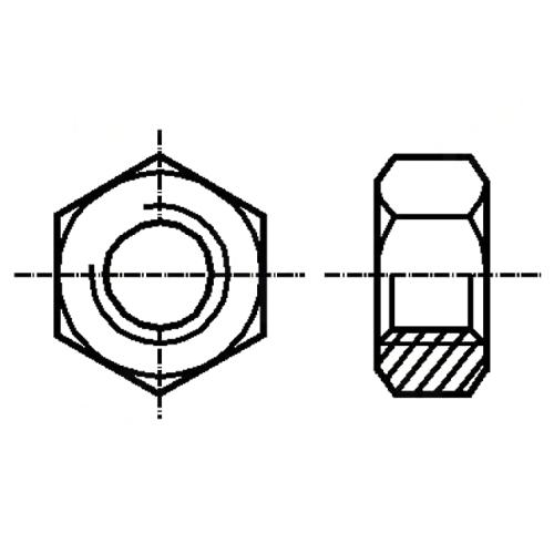 Set piulita otel 4mm (M4) (10 bucati)