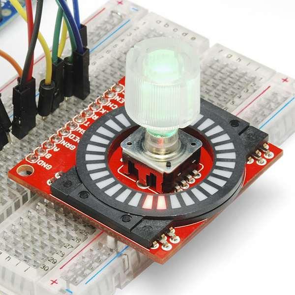 Capac encoder transparent SparkFun