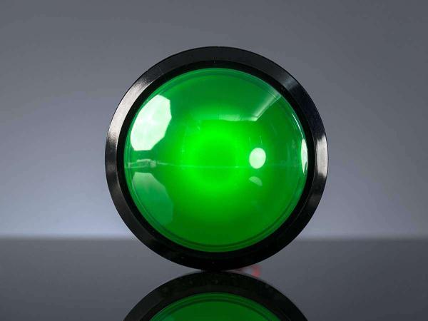 Massive Arcade Buton cu LED - 100mm Verde