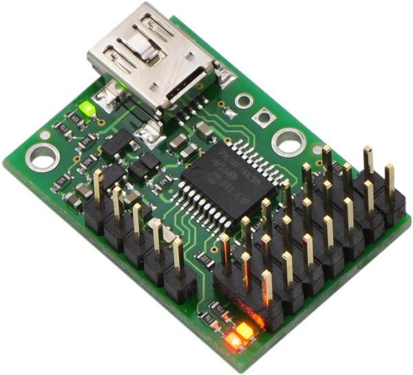 Controller servo 6 canale USB Micro Maestro