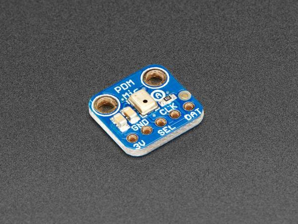 Microfon cu breakout Adafruit PDM MEMS