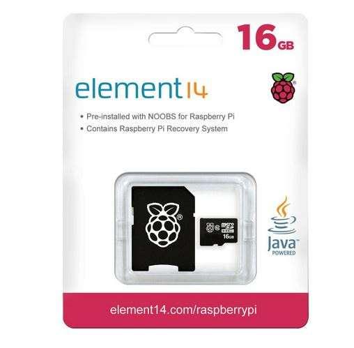 MicroSD Card Noobs Raspberry Pi V3 16GB