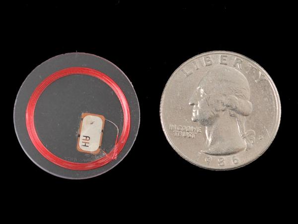 MiFare Classic (13.56MHz RFID NFC) Clear Tag - 1KB